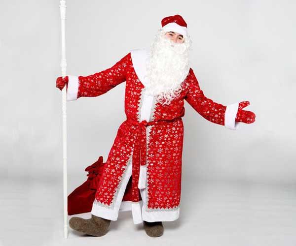 Звездный костюм Деда Мороза