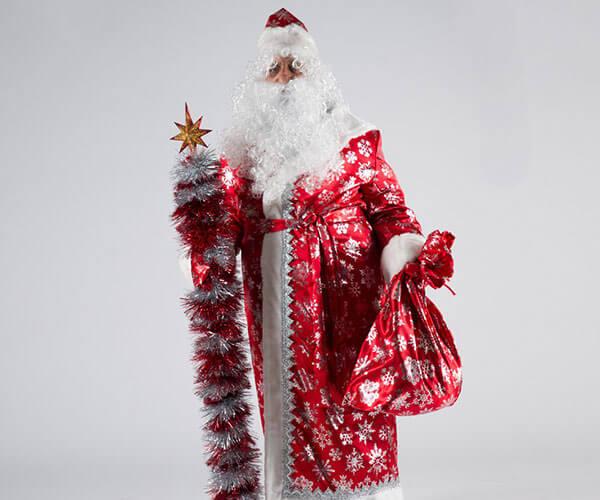 Костюм Деда Мороза Сатин.