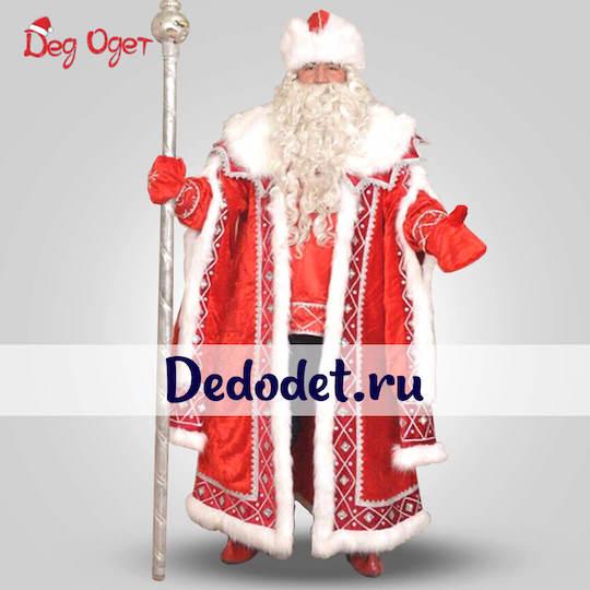 Кремлевский костюм деда Мороза в Пензе