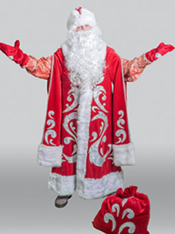 Костюм Деда Мороза Богатый в Пензе