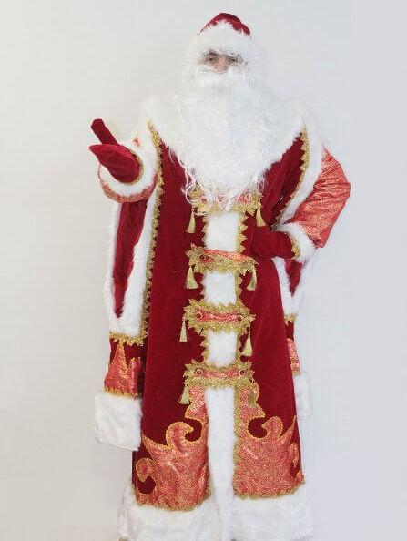 Царский костюм деда мороза в Пензе