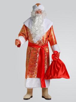 Костюм Деда Мороза Золотой в Пензе
