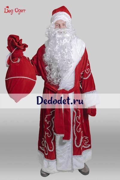 Костюм Деда Мороза традиционный  в Пензе
