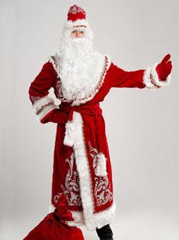 Костюм Деда Мороза Аппликация в Пензе