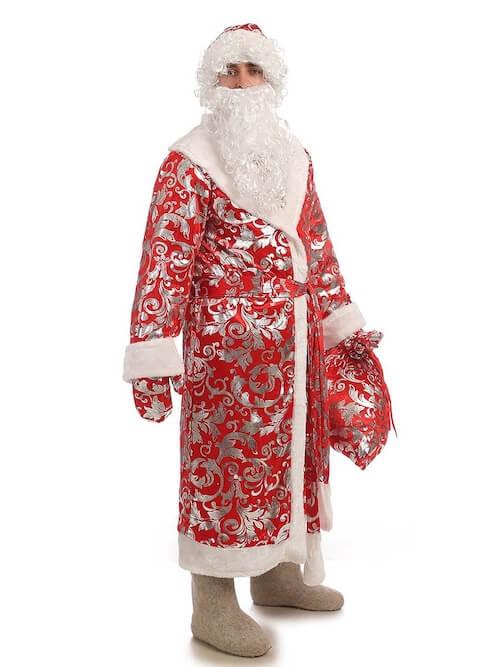 Костюм Деда Мороза блестящий в Пензе