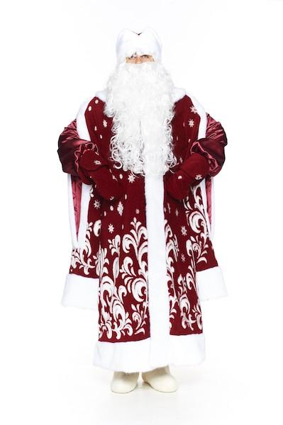 Бордовый новогодний костюм в Пензе