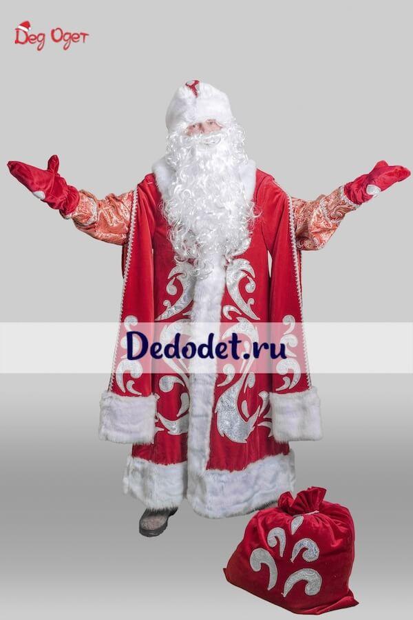 Богатый костюм деда мороза в Пензе
