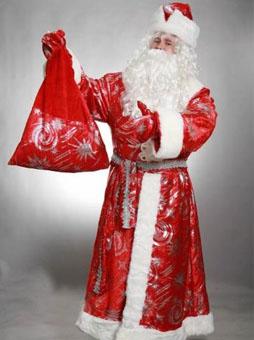 Костюм Деда Мороза с узорами в Пензе